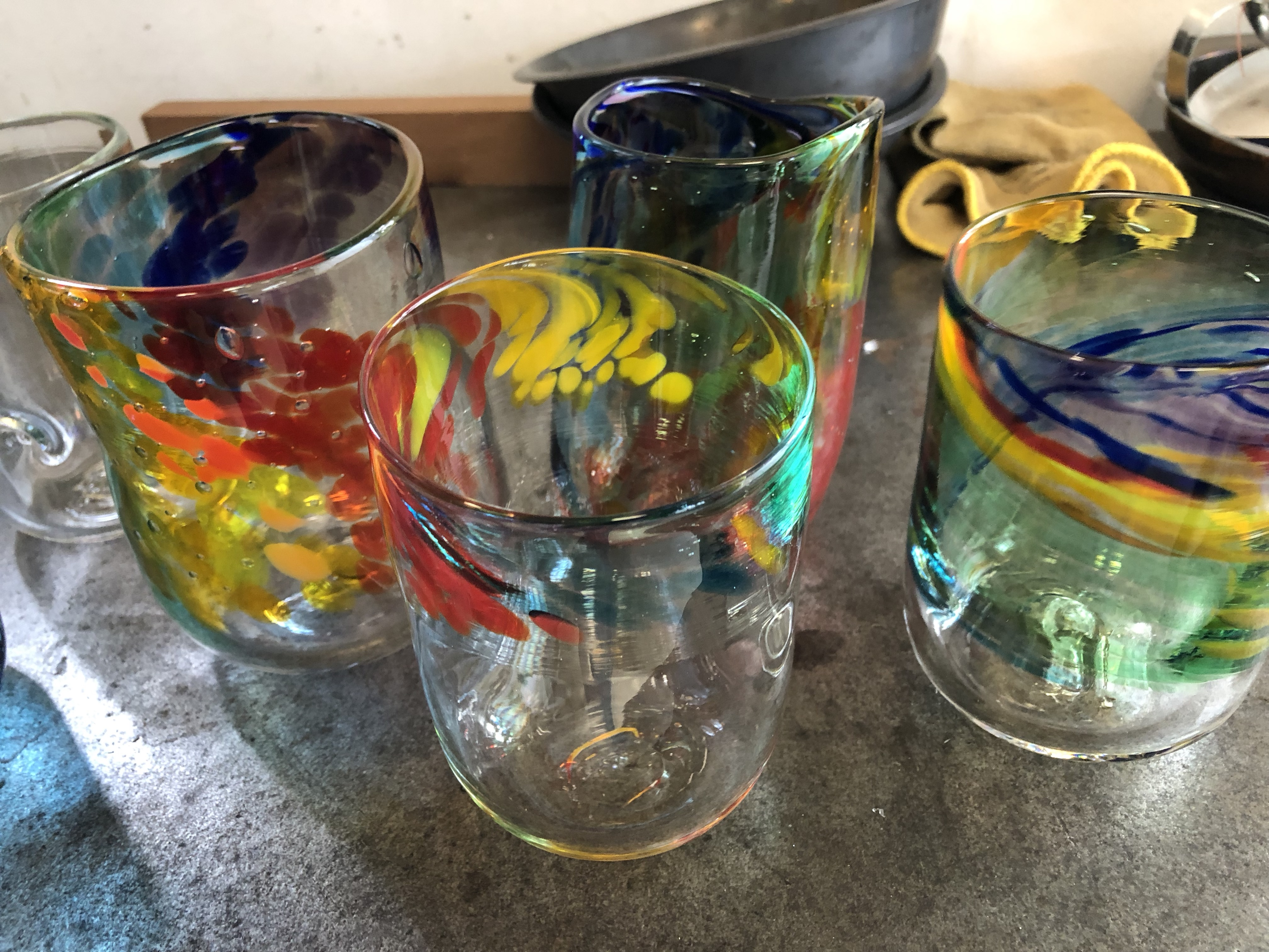 Chakra color inspired Tumblers